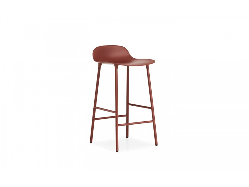 Form Stool Steel Legs 65cm - Normann Copenhagen Seating